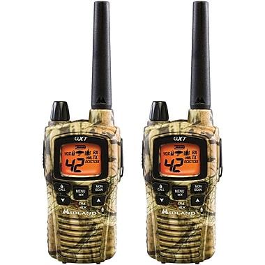 Midland 36 Mile Range 42 Channel Two-Way Radio Pair, Camo