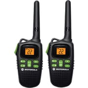 Motorola 20-Mile Talkabout Rechargeable Two-Way Radio Pair, Black
