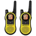 Motorola 23-Mile Range Talkabout Rechargeable Two-Way Radio, Yellow