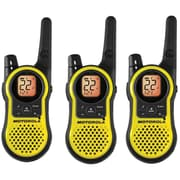 Motorola 23-Mile Rechargeable Talkabout Two-Way Radio, 3 Pack, Yellow