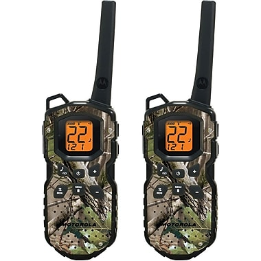 Motorola 35-Mile Talkabout Waterproof Camo Two-Way Radio Pair, Camouflage