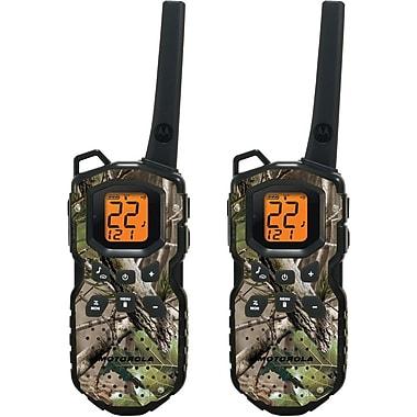Motorola 35-Mile Talkabout Waterproof Camo Two-Way Radio Pair, Camouflage