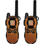 Motorola 35-mile Talkabout Water Resistant Orange Two-Way Radio Pair, Dark Orange