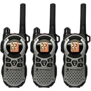 Motorola 35-mile Talkabout Water Resistant Silver Two-Way Radio, 3 Pack