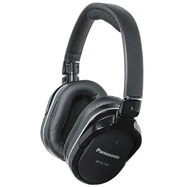 Panasonic Noise Canceling Monitor Style Headphones, Black