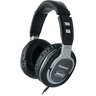 Panasonic Full Size Monitor Style Headphones, Silver