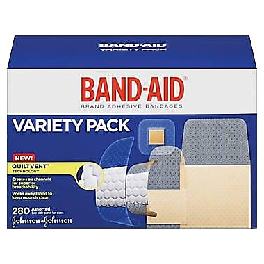 Band-Aid® Sheer/Wet Flex Bandages Variety Pack