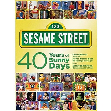123 Sesame Street 40 Years Of Sunny Days [2-Disc DVD]