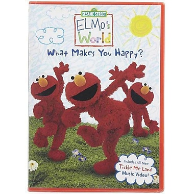 Sesame Street Elmo's World What Makes You Happy? [DVD]