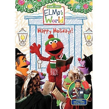 123 Sesame Street Elmo's World Happy Holidays [DVD]