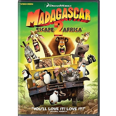 Madagascar Escape 2 Africa (Wide Screen) [DVD]
