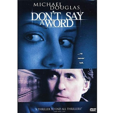 Don't Say A Word [DVD]