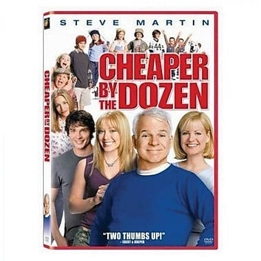 Cheaper By The Dozen [DVD]