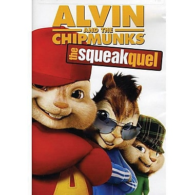 Alvin and the Chipmunks The Squeakquel [DVD]