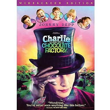 Charlie And The Chocolate Factory (Wide Screen) [DVD]