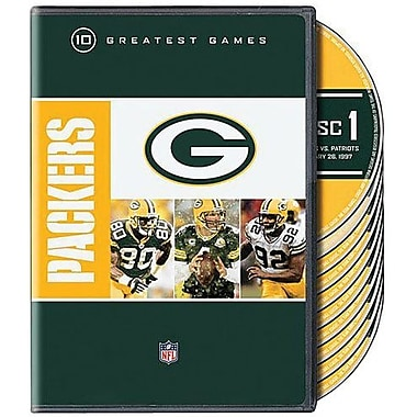 NFL Greatest Games Series Green Bay Packers [2-Disc DVD]