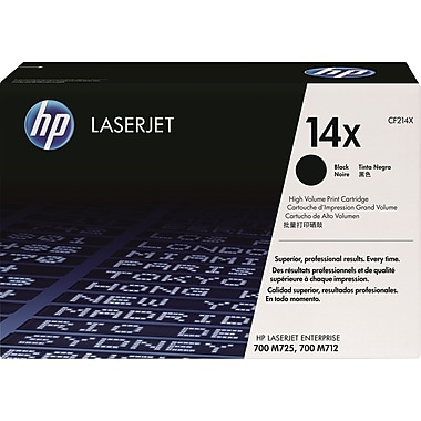 HP 14X Black Toner Cartridge (CF214X), High Yield