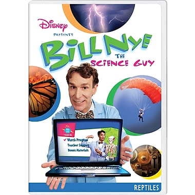 Bill Nye the Science Guy: Reptiles [DVD]