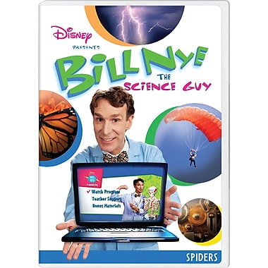 Bill Nye the Science Guy: Spiders [DVD]