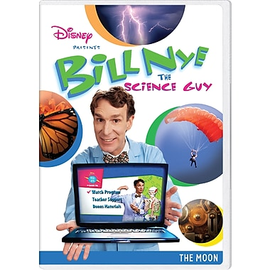 Bill Nye the Science Guy: The Moon [DVD]
