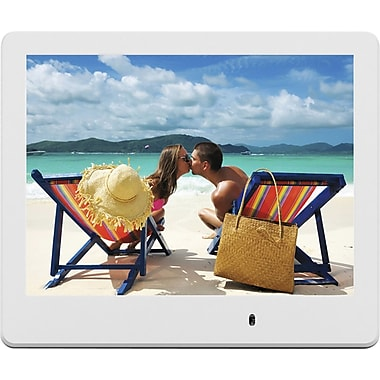 Viewsonic 8in. VFD820-70 Digital Photo Frame, White