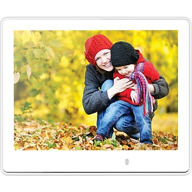 Viewsonic 8in. VFM820-70 UltraSlim Digital Phote Frame, White