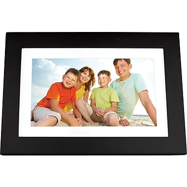 Viewsonic 10.1in. VFD1028W-11 Digital Photo Frame, Black
