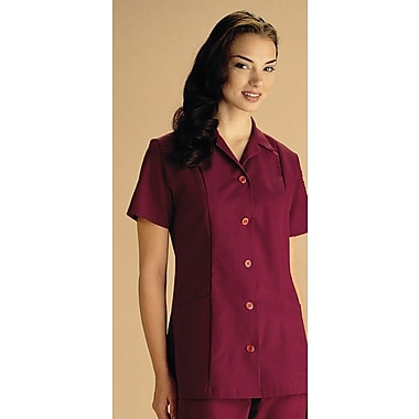 Medline Ladies Two-pockets A-line Tunics, Wine, XL