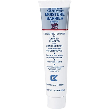 Carrington™ Moisture Barrier Creams with Zinc, 3 1/2 oz, 12/Pack