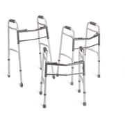 "Guardian Signature™ Youth Folding Walker with 5"" Wheels, Junior, 25 1/2 - 32 1/2 H, 4/Pack"