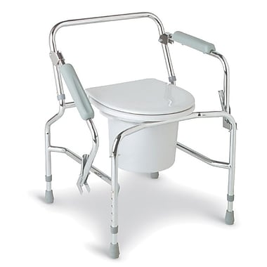 Medline Drop-arm Commodes, 250 lb
