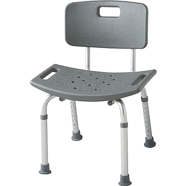 Guardian Signature™ Non-padded Transfer Bath Benches with Backs
