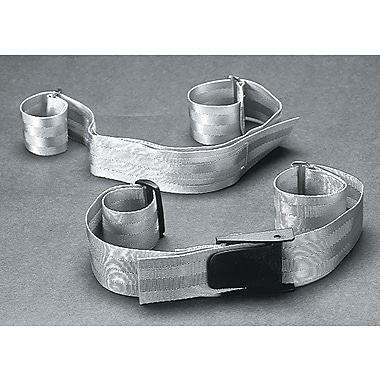Medline Wheelchair Patient Safety Quick Release Buckle Belt, White, 2