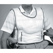 Medline Cotton Slipover Patient Safety Vests, Large, 6/Pack