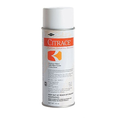 Citrace® Aerosol Germicidal Disinfectants, 14 oz, 12/Pack