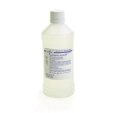 Medline - Hydrox Laboratories MDS098009 70% Isopropyl Rubbing Alcohol 32 oz. 12/Pack