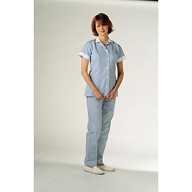 Medline Ladies Two-pockets Princess Pincord Tunics, Blue, XL