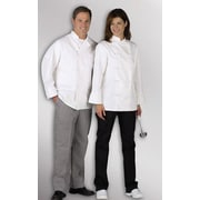 Medline Pearl Button Chef Coats, White, Small