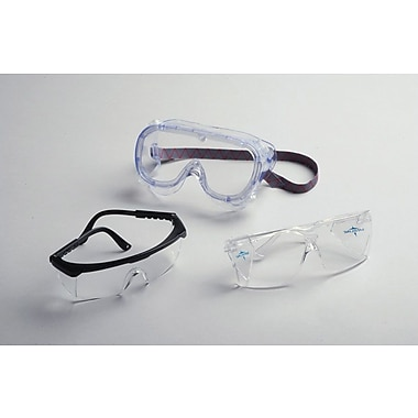 Medline Fluid Protective Goggles, Large Size, 36/Pack