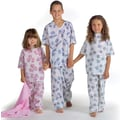 Animal Friends® Pediatric Gowns, Blue Animal Friends® Print, Large, Dozen