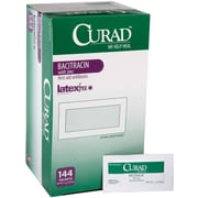 Medline Bacitracin Ointments, 3/100 oz, 144/Box