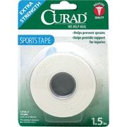 Curad® Sport Tapes, 10 yds L x 1 1/2 W, 4/Box, 24/Case