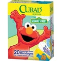 Curad® Sesame Street® Adhesive Bandages, Cartoon, Assorted, 20 Bandages/Box