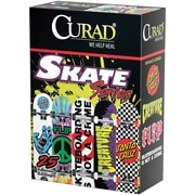 Curad® Adhesive Bandages, Green Camoflauge, 3 L x 3/4 W, 25 Bandages/Box, 24 Boxes/Case