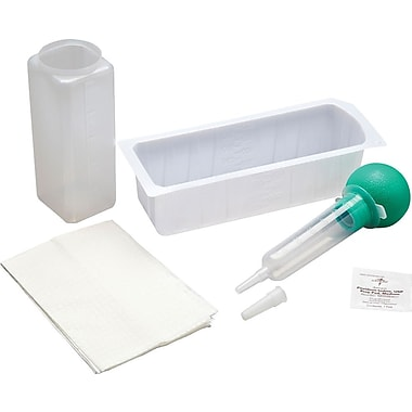 Medline Sterile Bulb Irrigation Syringe Trays