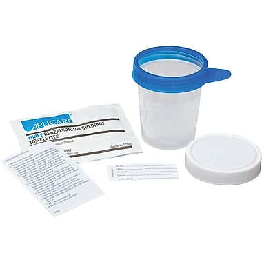 Medline Value Pak Midstream Collection Kits, 4 oz Size, 100/Pack