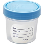 Medline Basic Non-sterile Specimen Containers, 4 oz Size, 100/Pack