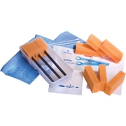 Medline Dry Skin Surgical Scrub Trays, 20/Pack