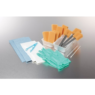 Medline Premium Dry Skin Surgical Scrub Trays