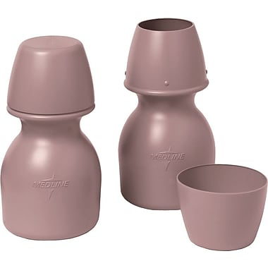 Medline Carafes with Cup, 32 oz, 20/Pack